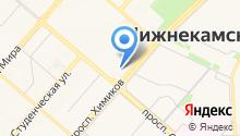 Коммерческая Недвижимость Нижнекамск - Аренда и Продажа Коммерческих помещений на карте