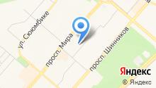 Детский сад №73, Рябинушка на карте