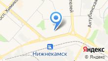 Детский сад №12, Ладушки на карте