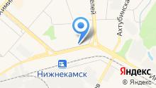 Нижнекамский стоматологический центр на карте