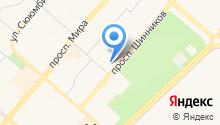 Авалон-ННК на карте