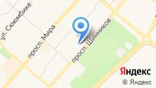 Аудит ТД на карте