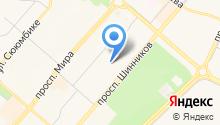 Гимназия-интернат №34 на карте