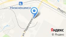 Отдел вневедомственной охраны по Нижнекамскому району на карте