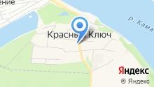 Садовый центр на Красном Ключе на карте