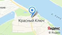 Красный Ключ, ТСЖ на карте
