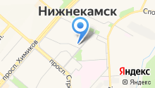 Нижнекамский татарский молодежный центр на карте