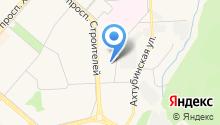 Жилищно-коммунальное управление на карте