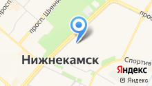 Автостоянка на проспекте Химиков на карте