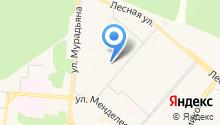 Детский сад №8, Тургай на карте