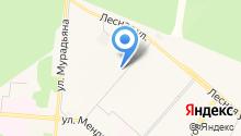 Бызовский на карте