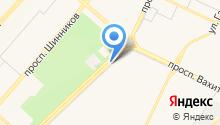 Амиго на карте