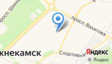 Гимназия №1 им. Мусы Джалиля на карте
