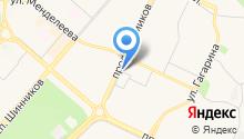 Компания Мэлт на карте