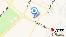 Вахитова 14 на карте