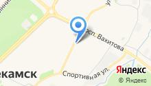 Нур-клининг на карте