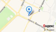 Вахитова 14, ТСЖ на карте