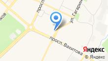 Баклажан на карте