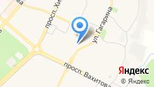 Камские бани на карте