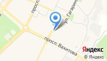 Бэлла на карте