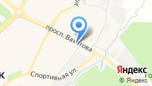Ак Юл на карте