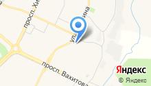 Мастерская по ремонту обуви и изготовлению ключей на ул. Гагарина на карте