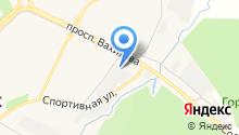 Шиномонтажная мастерская на ул. Чабьинская на карте
