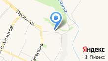 Камагарант на карте