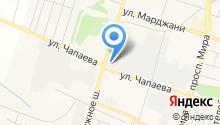 Отдел Федеральной противопожарной службы МЧС Республики Татарстан по Елабужскому муниципальному району на карте