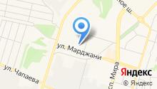Кояш на карте