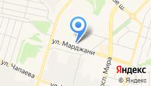 Диаз на карте
