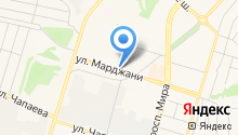 Вятка на карте