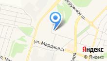 Мастерская по ремонту обуви на ул. Марджани на карте
