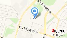 Адвокат Мухаметдинов Ф.Ф. на карте