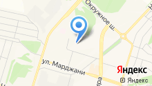Магазин парфюмерии на ул. Марджани на карте
