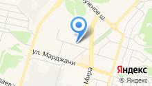 Елабужская городская поликлиника на карте