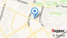 MakPro на карте