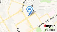 Ак-тай на карте