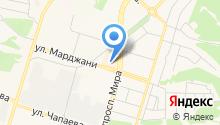 Сеть салонов доступной мебели на карте