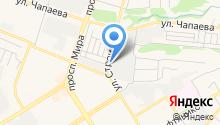 Металлург-МК на карте