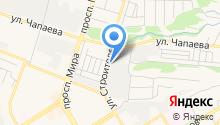 Заточка центр на карте
