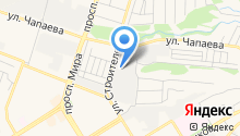 Технолайн на карте