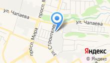 Силикат, ЗАО на карте