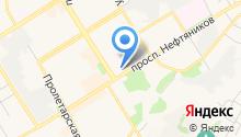 """""""Своя парикмахерская"""" на карте"""