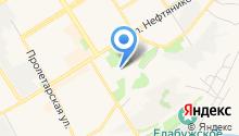 Чистоган на карте