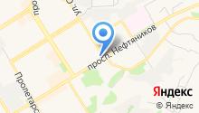 Опорный пункт полиции №1 на карте