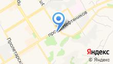 Прикамнефть на карте