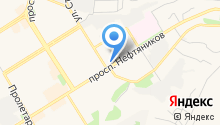 Тенториум на карте