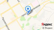"ООО ""Землемер"" - Геодезические услуги на карте"