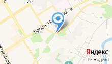 Вечер Елабуги на карте